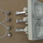 Stempelhus til Glace softicemaskiner